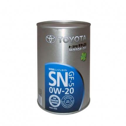 Toyota SN 0W-20 1л (ж/б)