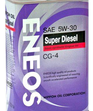 Масло моторное Eneos CG-4 5W-30 0,94л