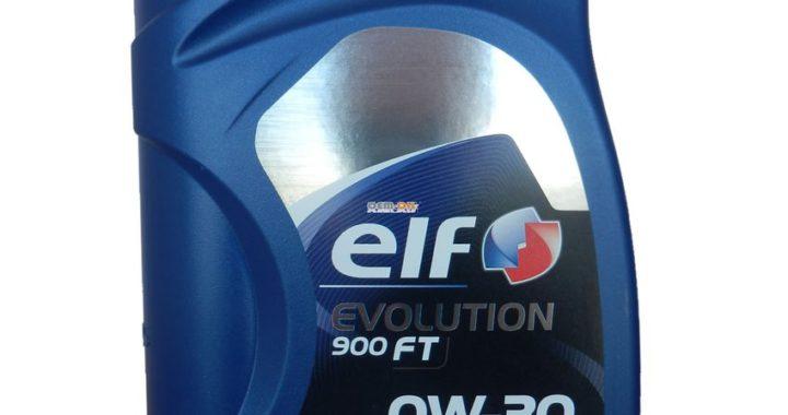 Масло моторное Elf Evolution 900 FT 0W-30 1л