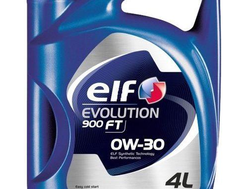 Масло моторное Elf Evolution 900 FT 0W-30 4л