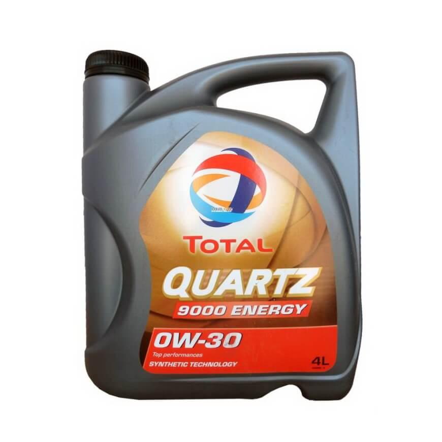 Total Quartz 9000 Energy 0W-30 4л