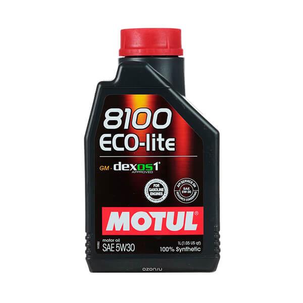 Motul 8100 Eco-Lite 5W-30 Dexos1 1л