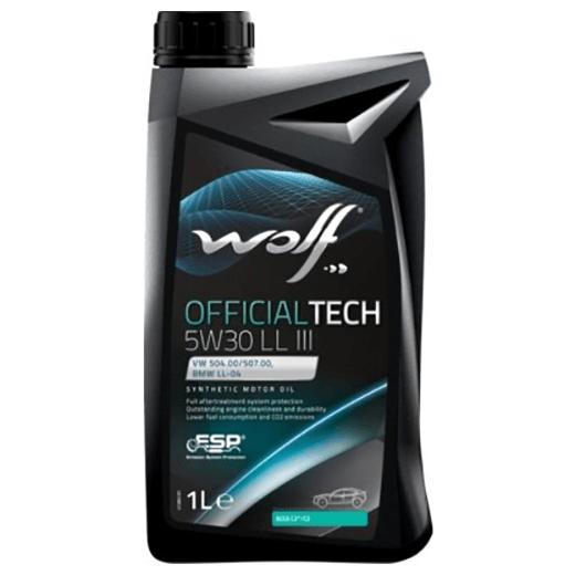 Wolf OFFICIALTECH 5W-30 LL III 1л