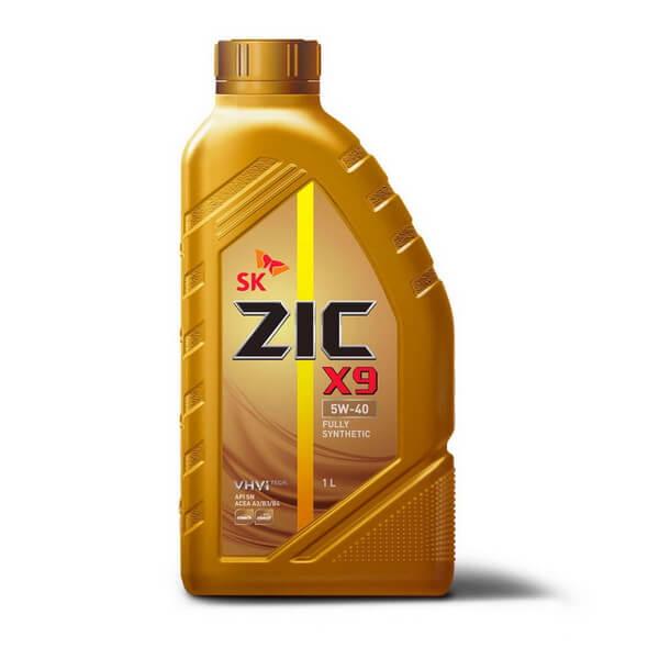 Zic X9 5W-40 SN 1л