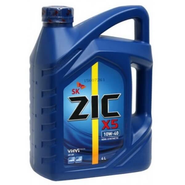 Zic Х5 SM 10W-40 4л п/c