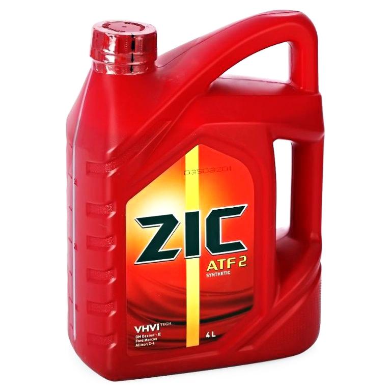 Масло трансмиссионное Zic ATF 2 4л