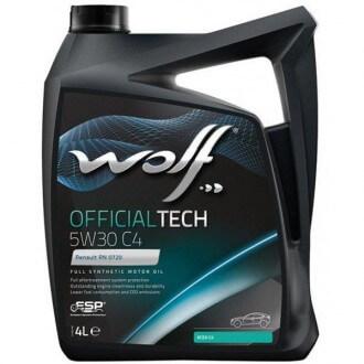 Wolf OFFICIALTECH 5W-30 LL III 4л