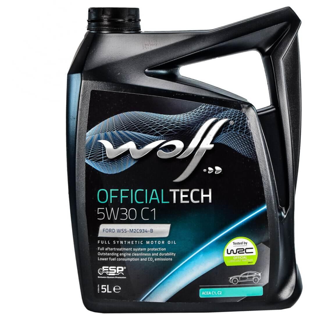 Wolf OFFICIALTECH 5W-30 LL III 5л
