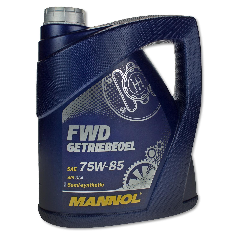 Масло трансмиссионное Mannol FWD Getriebeoel 75W-85 4л