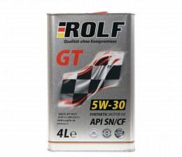ROLF GT 5W30 SN/CF 4л cинт