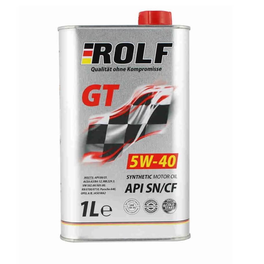 ROLF GT 5W40 SN/CF 1л cинт