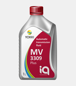 Масло трансмиссионное YCA02-1001P YOKKI IQ ATF MV 3309 plus 1л (п/б)