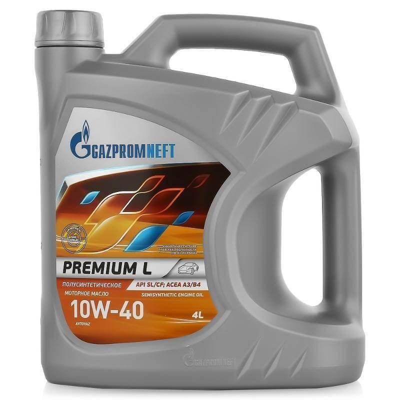 Газпромнефть Premium L 10W-40 SL/CF 4л