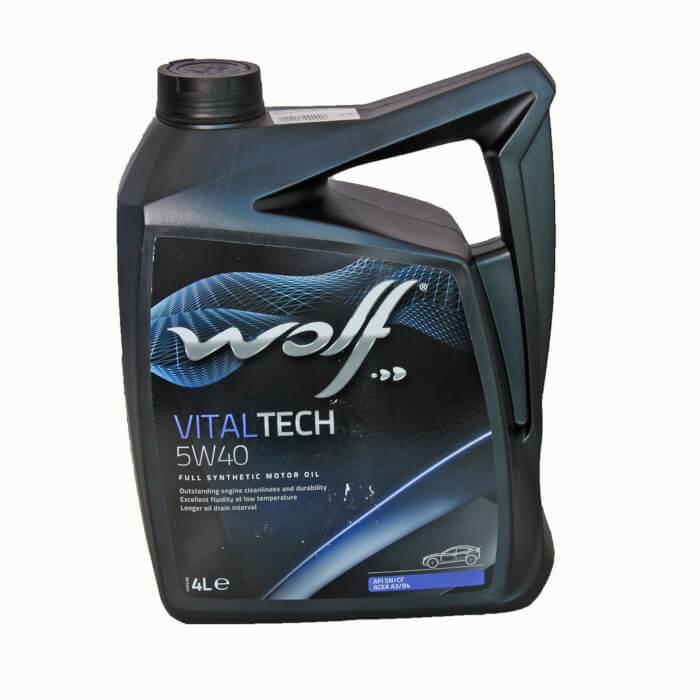 Wolf VITALTECH 5W-40 5л