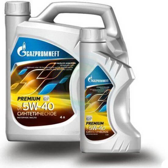 Газпромнефть Premium 5W-40 SM/CF 5л (4+1)
