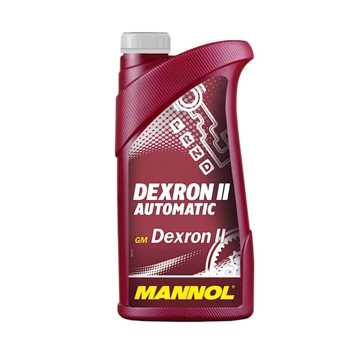 Масло трансмиссионное Mannol Dexron II Automatik 1л