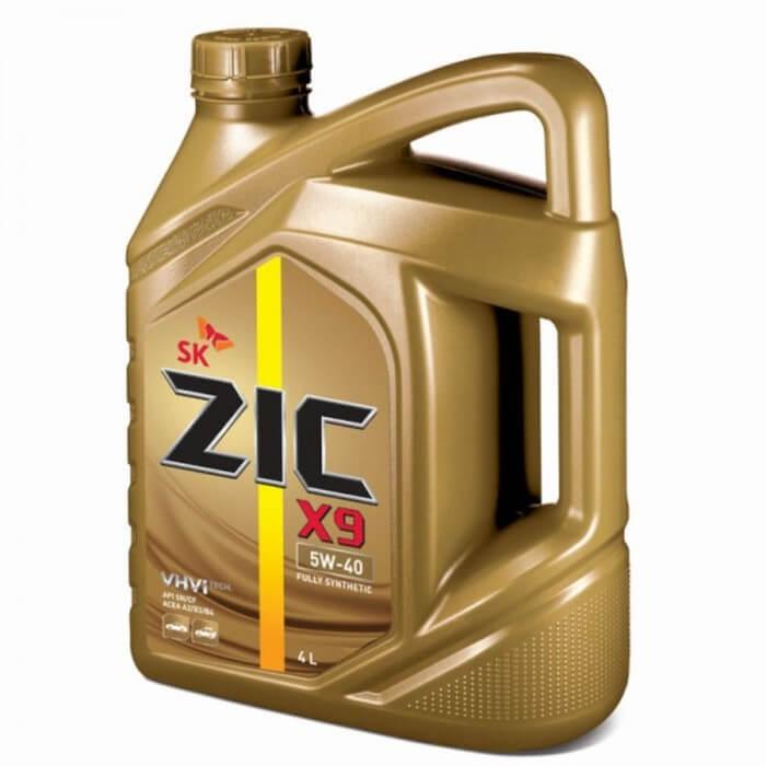 Zic X9 5W-40 SN 4л