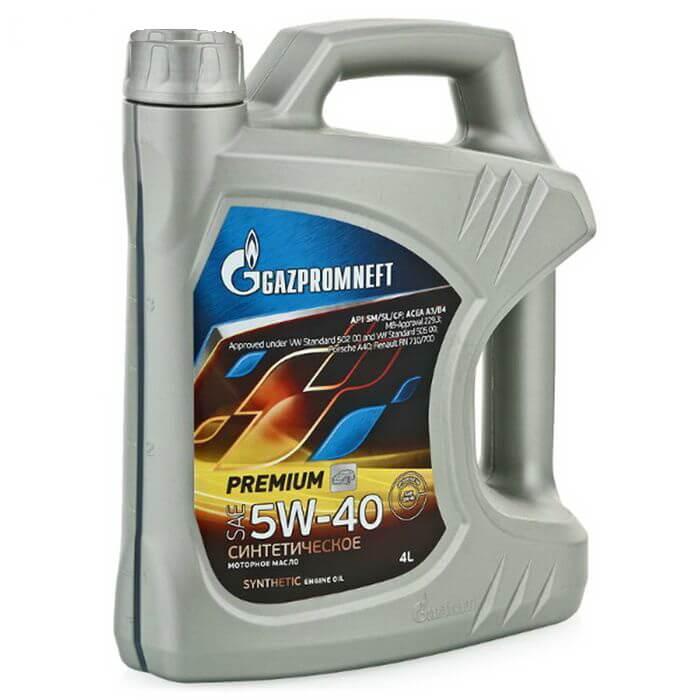 Газпромнефть Premium 5W-40 SM/SL/CF 4л