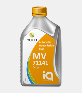 Масло трансмиссионное YCA11-1001P YOKKI IQ ATF MV 71141 plus 1л (п/б)