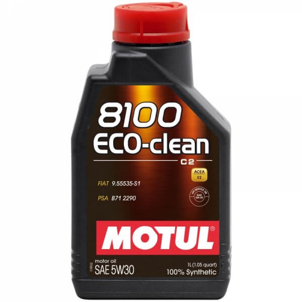 Motul 8100 Eco-clean C2 5W-30 1л