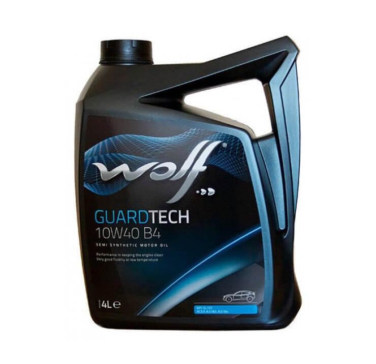 Wolf GUARDTECH 10W-40 B4 5л