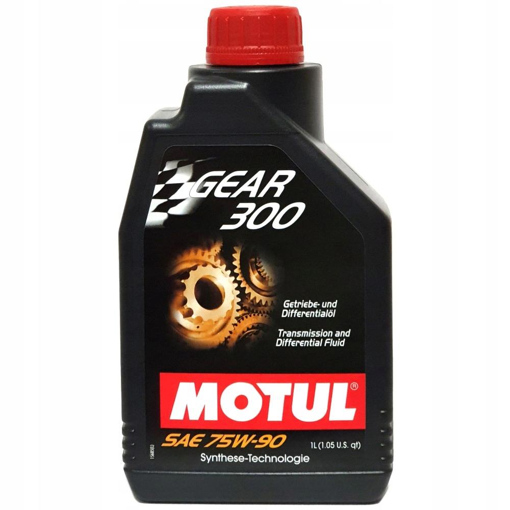 Масло трансмиссионное Motul Gear 300 75W-90 1л.