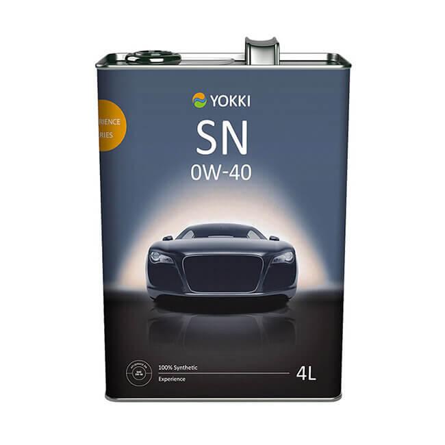 YAC11-1004S YOKKI SAE 0W-40 API SN/CF (FS) Experience 4л ж/б