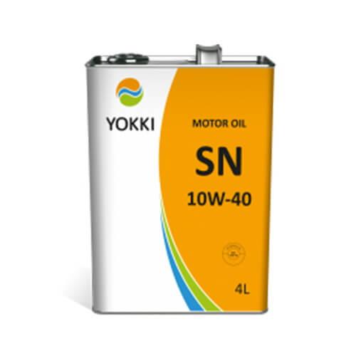YAE31-1004SK YOKKI SAE 10W-40 API SN/CF 4л