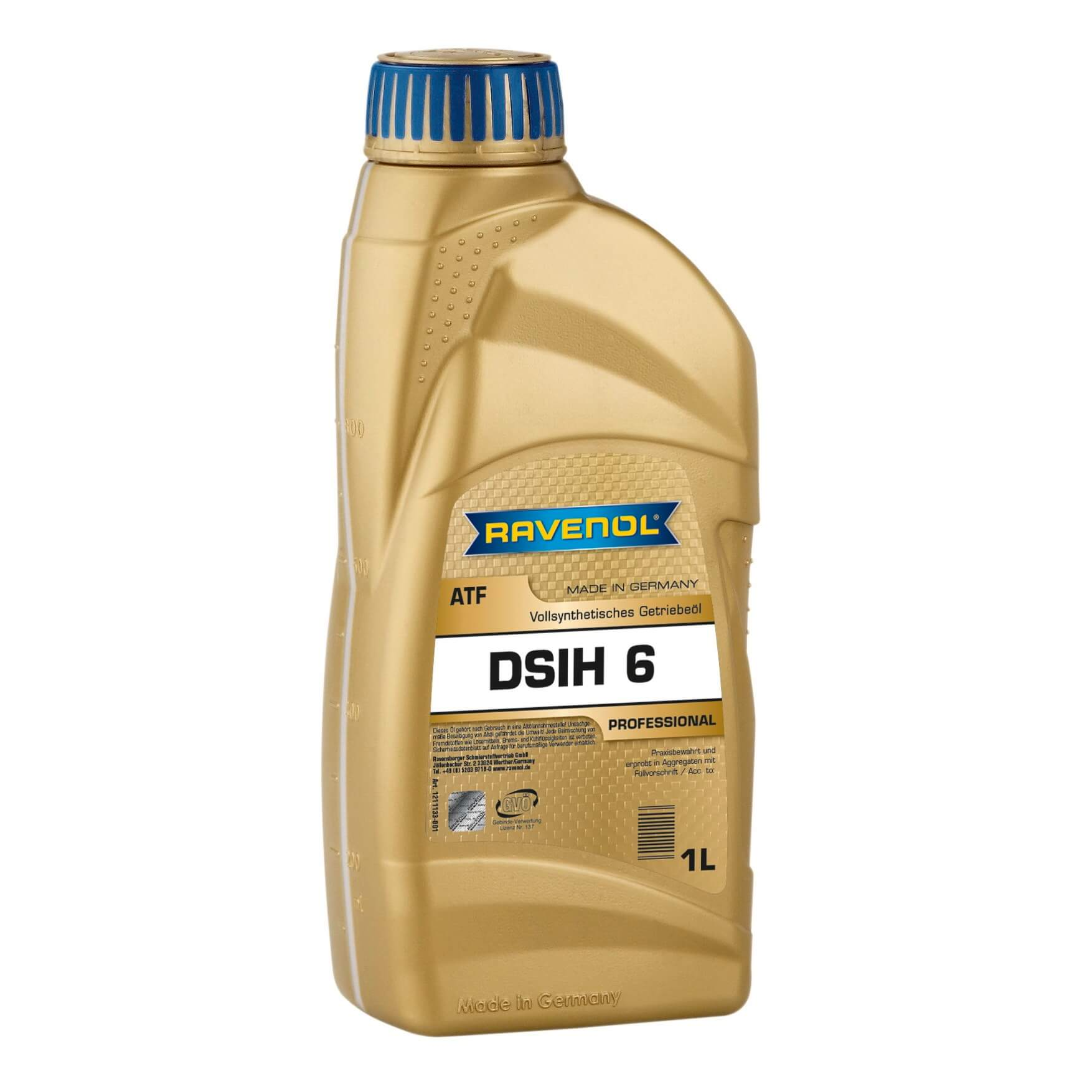 Масло трансмиссионное Ravenol ATF DSIH 6 1л