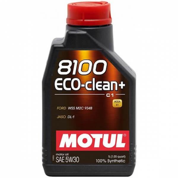 Motul 8100 Eco-clean+ C1 5W-30 1л