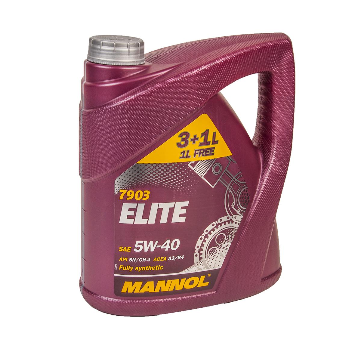 Mannol Elite 5W-40 4л
