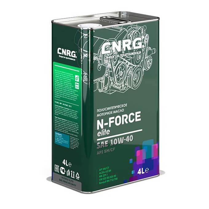 C.N.R.G. N-Force Elite 10W-40 SM/CF 4л ж/б