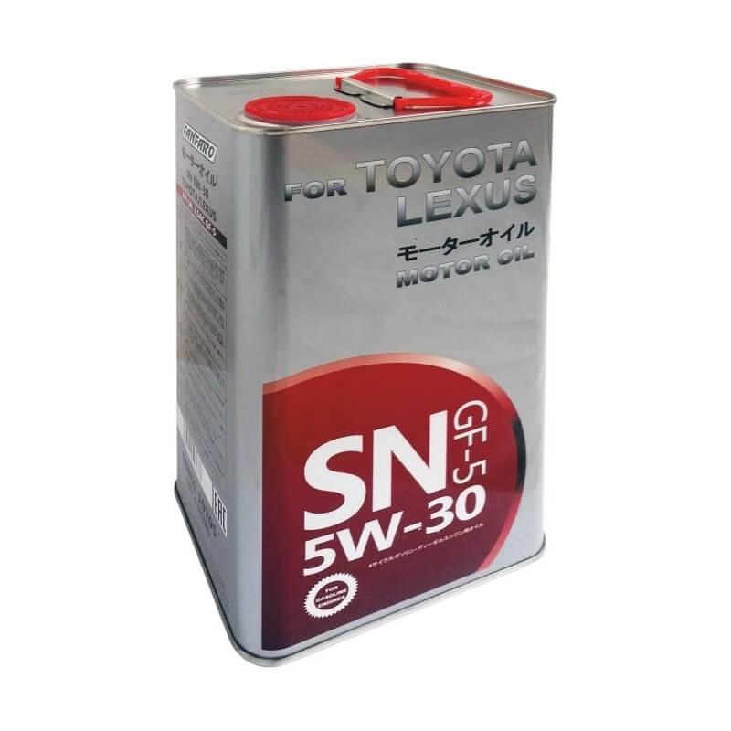 Toyota SN 5W-30 4л (ж/б)