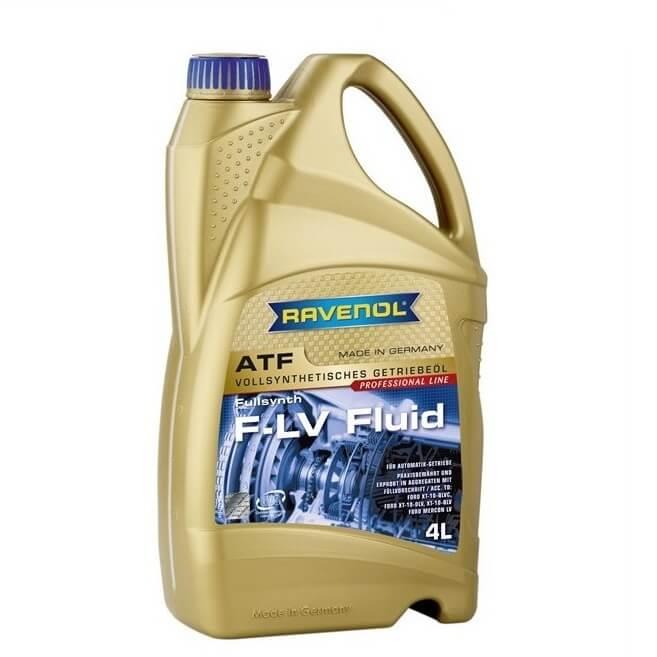 Масло трансмиссионное Ravenol ATF F-LV Fluid 4л.