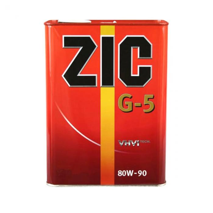 Масло трансмиссионное Zic G-5 80W-90 4л