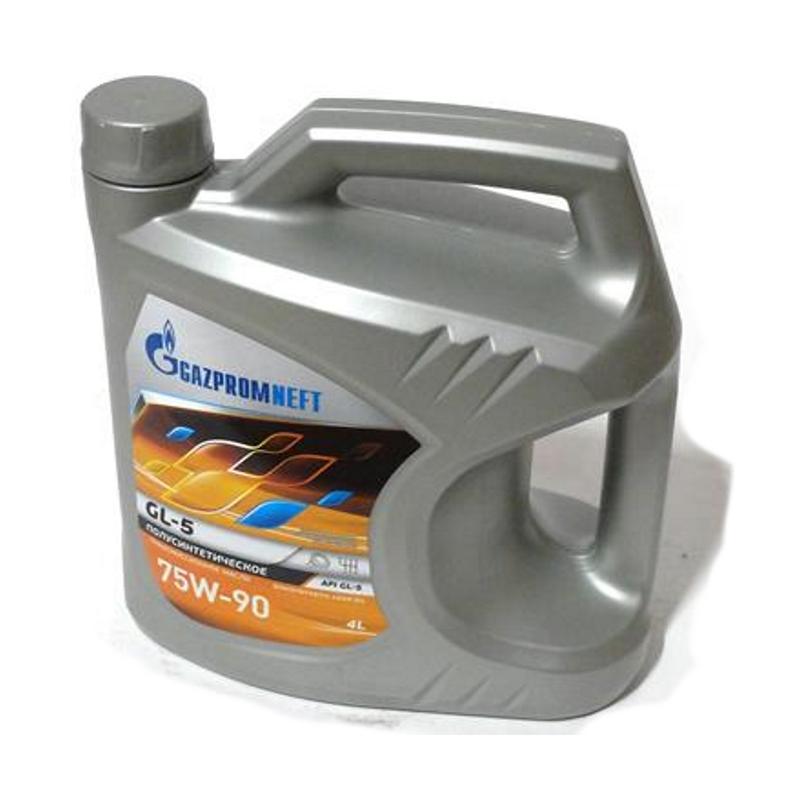 Масло трансмиссионное Газпромнефть 75W-90 GL-5 4л