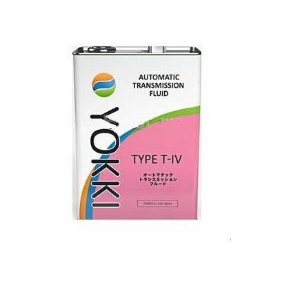 Масло трансмиссионное YTOTIV-1 YOKKI ATF T-IV 1л ж/б