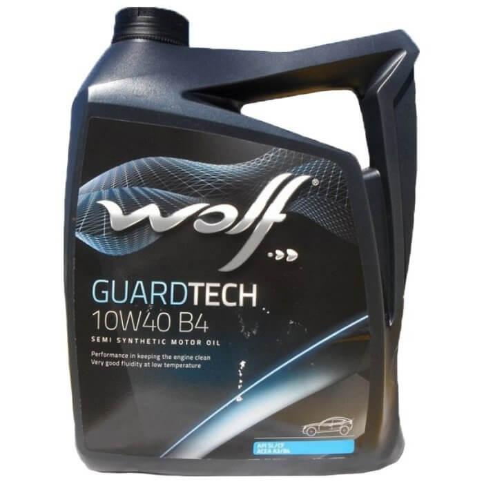 Wolf GUARDTECH 10W-40 B4 4л