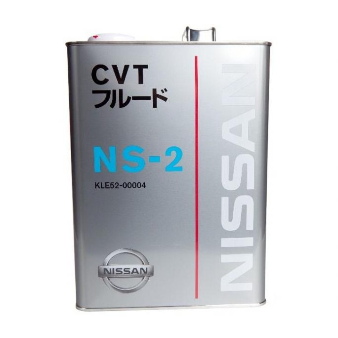 Масло трансмиссионное Nissan CVT NS-2 4л.