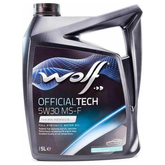 Wolf OFFICIALTECH 5W-30 MS-F 5л
