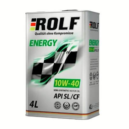 ROLF Energy 10W40 SL/CF 4л п/с