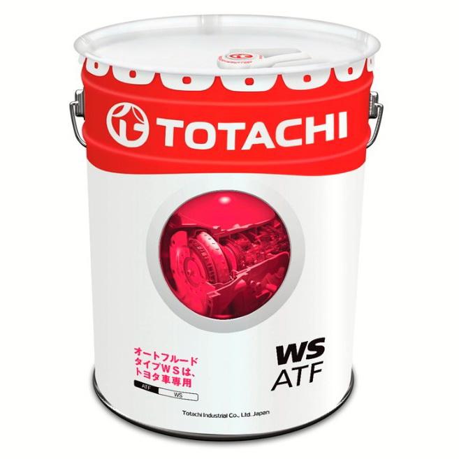 Масло трансмиссионное TOTACHI ATF WS 20л, л