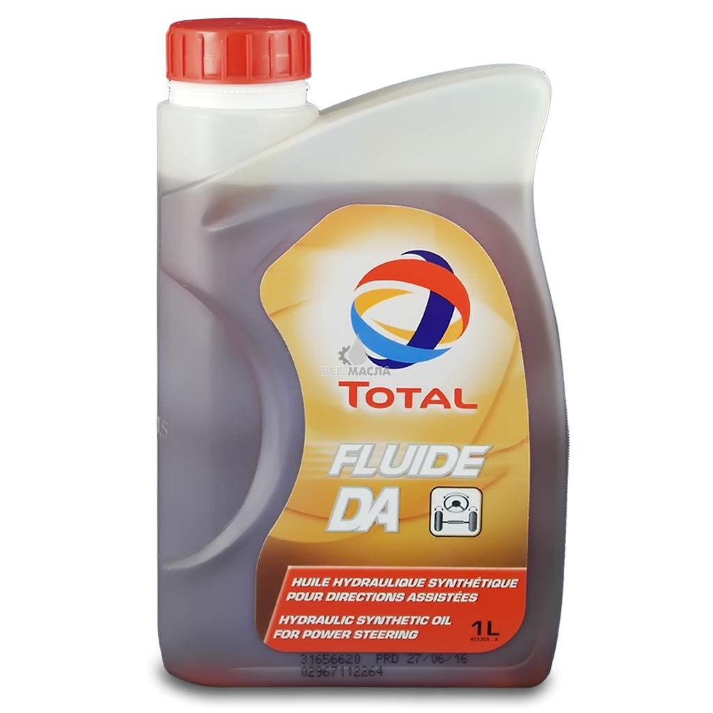 Масло трансмиссионное Total Fluide DA 1л