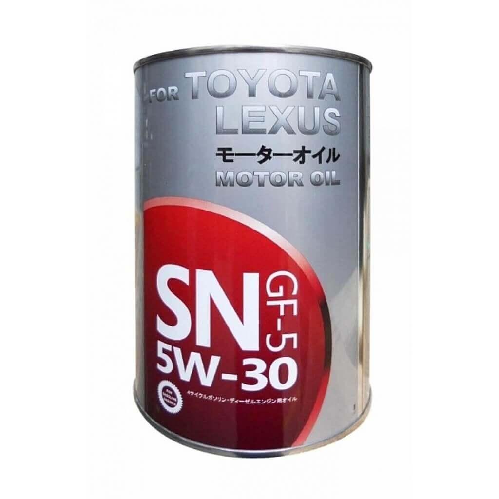 Toyota SN 5W-30 1л (ж/б)