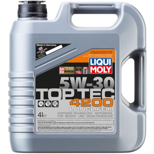 Масло LM TOP TEC 4200 5W-30 4л